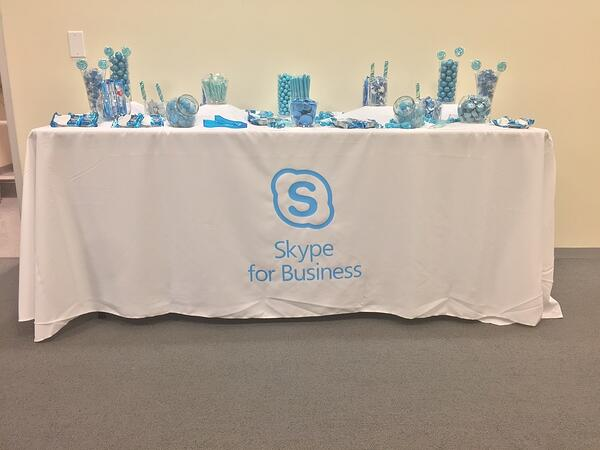Skype for Business candy bar - CM