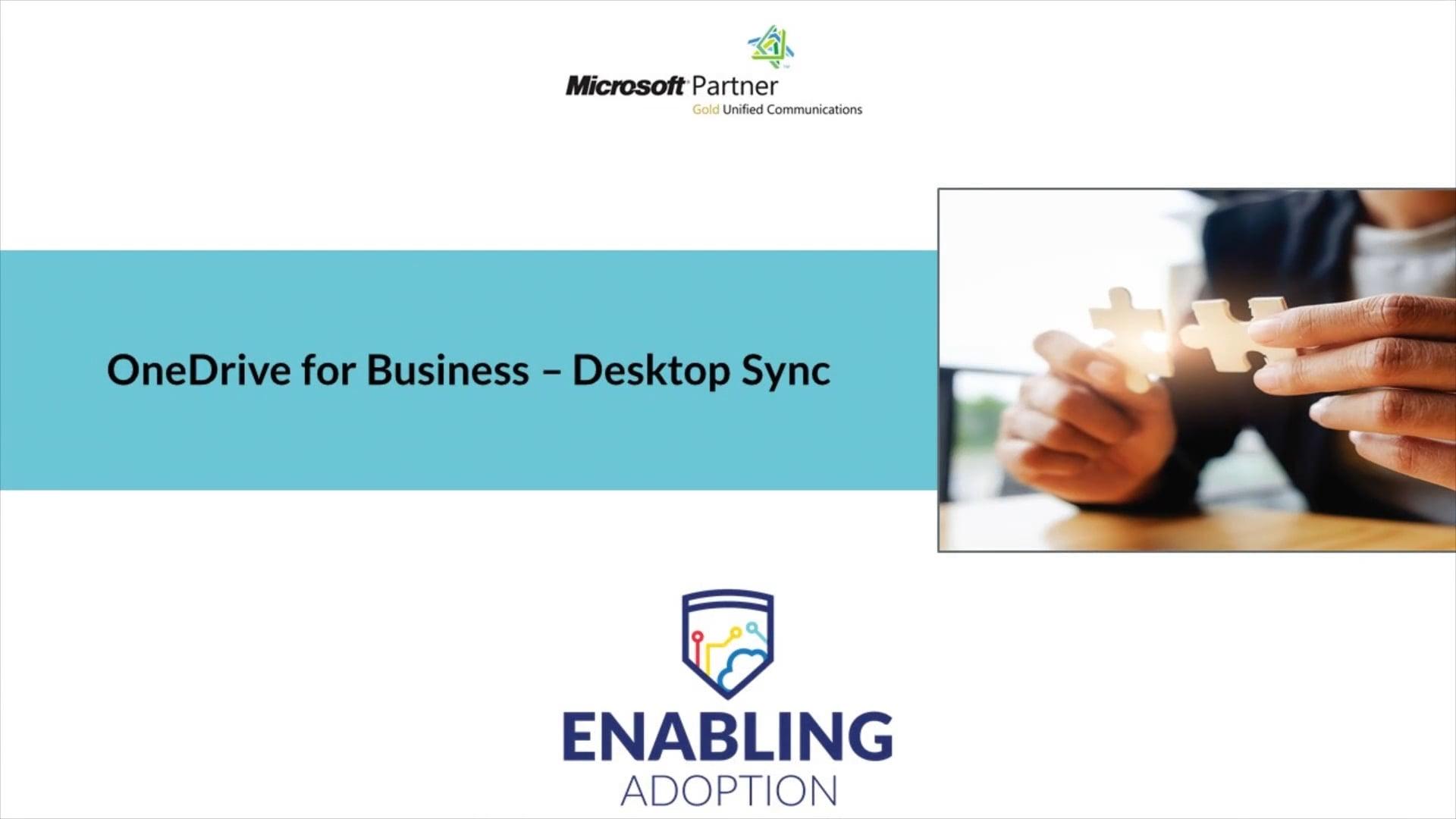 OneDrive for Business - Desktop Sync